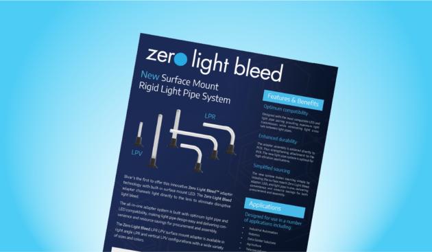 Zero Light Bleed - New Surface Mount Rigid Light Pipe System