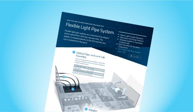 Flexible Light Pipe System
